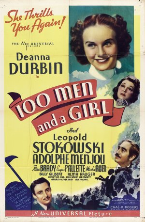 One-Hundred-Men-and-a-Girl-Poster
